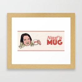 Nug's Mug Framed Art Print
