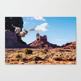 The Gods Must be Crazy Canvas Print