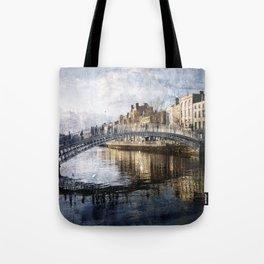 Ha'PPeny Bridge Tote Bag