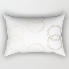 Simply Infinity Link in White Gold Sands on White Rectangular Pillow