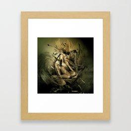 Held by Nothing Framed Art Print