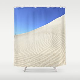 Tiny Human Big World | Fine Art Photo Shower Curtain