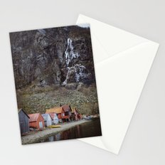 frozen water at Frafjord, Norway Stationery Cards