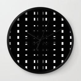 Perceive Depth In Black And White Wall Clock