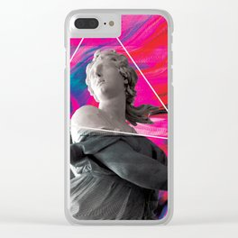 Persephone Trips the Light Fantastic Clear iPhone Case