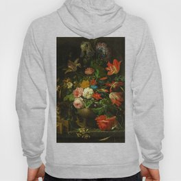 """Abraham Mignon """"The Overturned Bouquet"""" Hoody"""