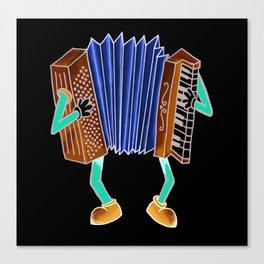 Instrument Dude Canvas Print