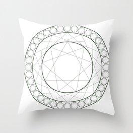 Anime Magic Circle 12 Throw Pillow