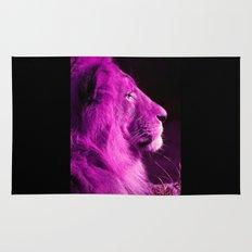 Pretty Kitty in Purple Rug