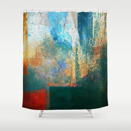 Extraction Shower Curtain
