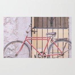 Red Bike/Yellow Door Rug