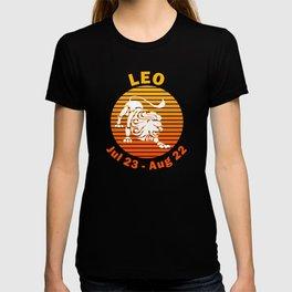 Leo Jul 23 - Aug 22  Zodiac T-shirt