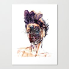 Dark Beauty Canvas Print