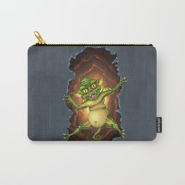 Green Gremlin Carry-All Pouch