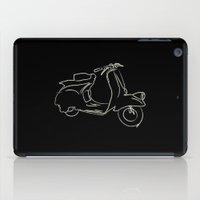 vespa iPad Cases featuring vespa by Guillermo Dalmazo