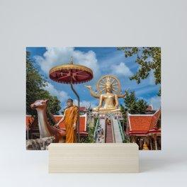 Big Buddha Temple Mini Art Print