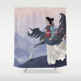 Mulan Shower Curtain