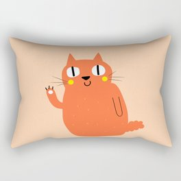 Hello Cat Rectangular Pillow