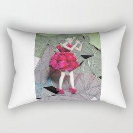 Alexander McQueen Doodle Bomb by Downtown Doodler Rectangular Pillow