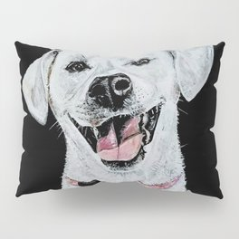 Smiling Dog Pillow Sham