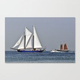 SAILORS WORLD - Baltic Sea Canvas Print