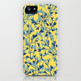 HEARTS PLANTATION [yellow] iPhone Case