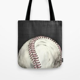 Vintage Baseball Art Tote Bag