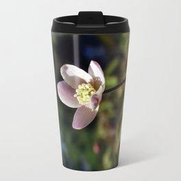 Anemone Flower Travel Mug