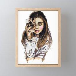Wednesday Framed Mini Art Print