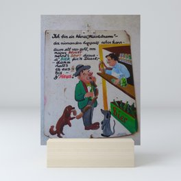 wiener würstelmann Mini Art Print