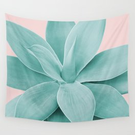 Blush Agave Romance #1 #tropical #decor #art #society6 Wall Tapestry
