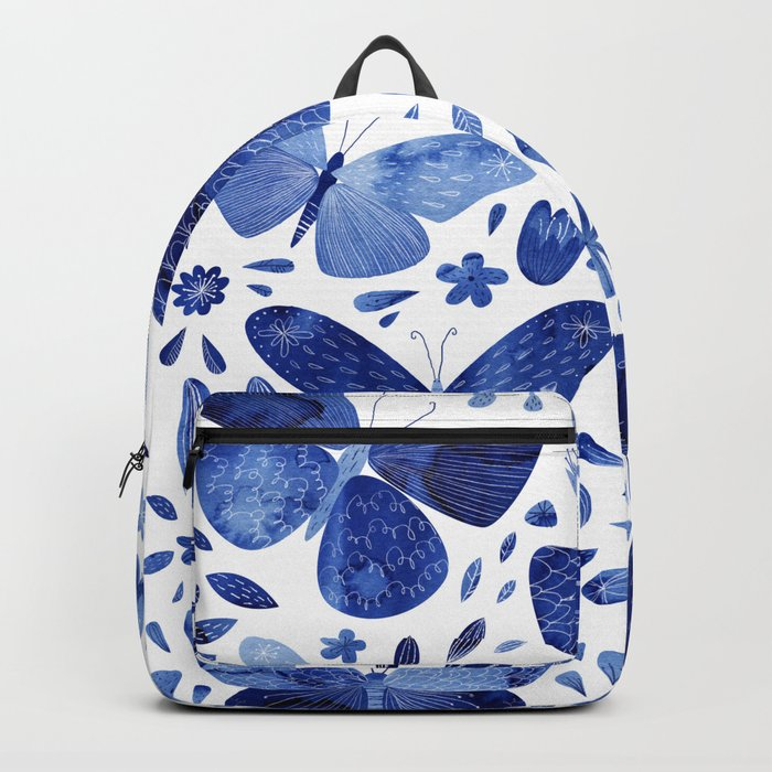 Blue Butterflies Backpack