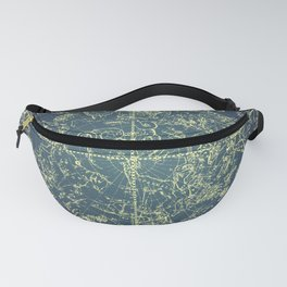Stars Constellations Map Fanny Pack