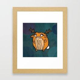Chunky Puff Framed Art Print