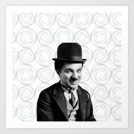 Charlie Chaplin Old Hollywood Art Print