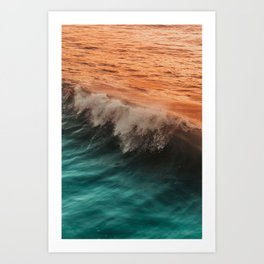PACIFICA WAVEs 1 Art Print