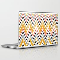 herringbone Laptop & iPad Skins featuring herringbone by Emmy Winstead