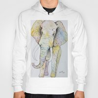 boho Hoodies featuring Boho Elephant by Maya Antoni