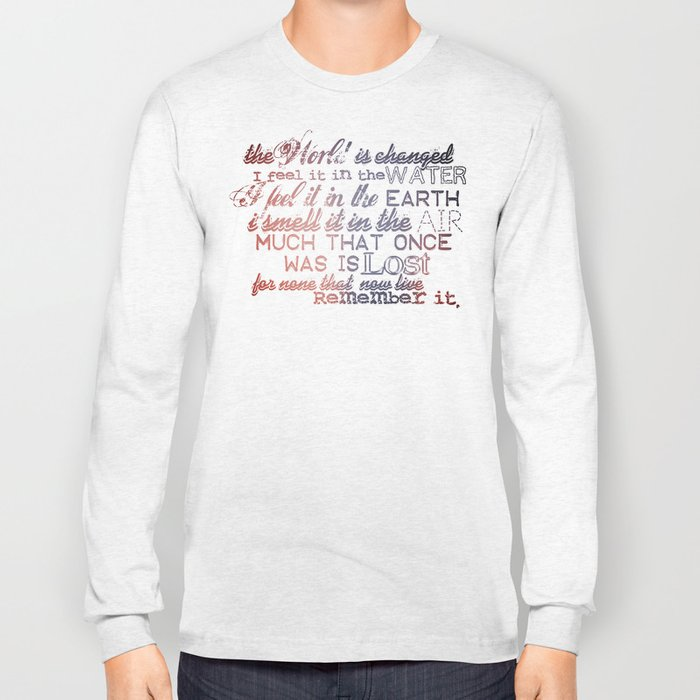 Remember it. Long Sleeve T-shirt