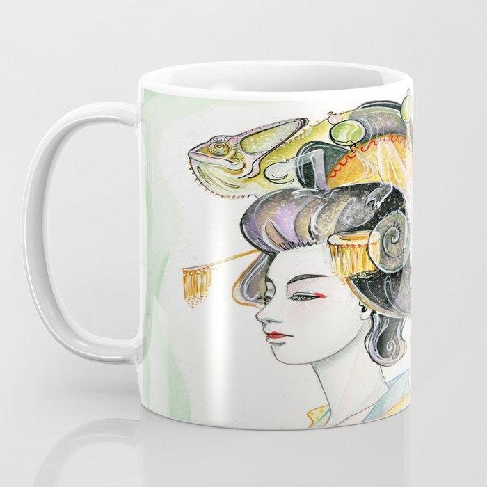 Chameleon Oiran Coffee Mug