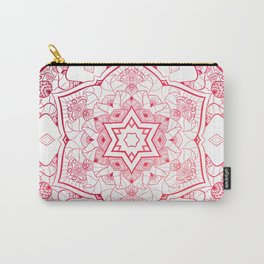 NAMASTE RED MANDALA Carry-All Pouch