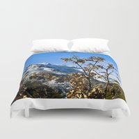 spain Duvet Covers featuring Sanábria, Spain by Elias Silva Photography