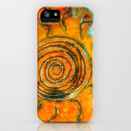 Southwest Sun Burst iPhone Case