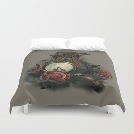 Sir Owl. Steampunk Duvet Cover