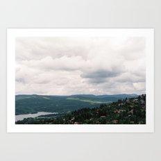 Norway III Art Print