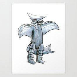 Zigra Art Print