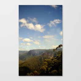 The Blue Mountains Canvas Print