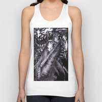 berserk Tank Tops featuring Berserk by lcillustrations