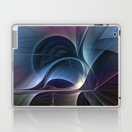 Fractal Mysterious, Colorful Abstract Art Laptop & iPad Skin