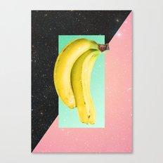 Eat Banana Canvas Print
